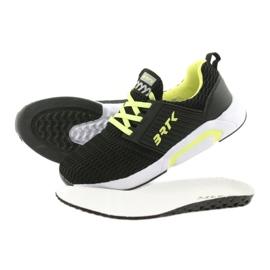 Bartek 58110 Buty sportowe wsuwane czarne żółte 5