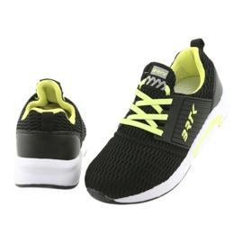 Bartek 58110 Buty sportowe wsuwane czarne żółte 4