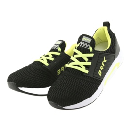 Bartek 58110 Buty sportowe wsuwane czarne żółte 3