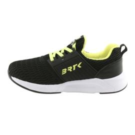 Bartek 58110 Buty sportowe wsuwane czarne żółte 2