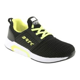 Bartek 58110 Buty sportowe wsuwane czarne żółte 1