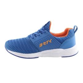 Bartek 58110 Buty sportowe wsuwane niebieskie pomarańczowe 2