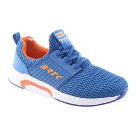 Bartek 58110 Buty sportowe wsuwane niebieskie pomarańczowe 1