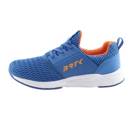 Bartek 55110 Buty sportowe wsuwane niebieskie pomarańczowe 2