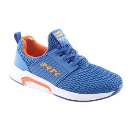 Bartek 55110 Buty sportowe wsuwane niebieskie pomarańczowe 1