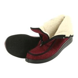 Befado obuwie damskie pu 996D005 czerwone 4
