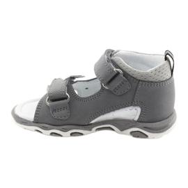 Sandałki chłopięce rzepy Bartek 51489 szare 2