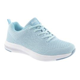 Sportowe dziewczęce American Club HA07 blue niebieskie 1