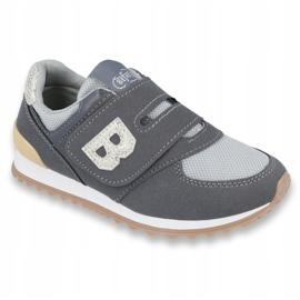 Befado obuwie dziecięce do 23 cm 516Y040 szare 1