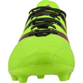Buty piłkarskie adidas Ace 16.3 FG/AG M Leather AF5162 zielone zielone 2