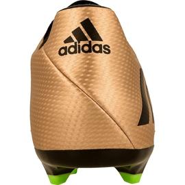 Buty piłkarskie adidas Messi 16.3 Fg M BA9838 złoty złoty 2