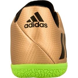 Buty halowe adidas Messi 16.3 In M BA9853 złoty złoty 2