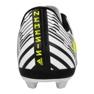 Buty piłkarskie adidas Nemeziz 17.4 FxG Jr S82459 białe biały, czarny 2