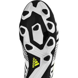 Buty piłkarskie adidas Nemeziz 17.4 FxG M S80606 wielokolorowe białe 1