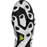 Buty piłkarskie adidas Nemeziz 17.4 FxG M S80606 biały, czarny białe 1