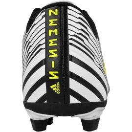 Buty piłkarskie adidas Nemeziz 17.4 FxG M S80606 wielokolorowe białe 2
