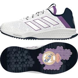 Buty adidas Rapida Turf Real Madryt Fc Jr BA9699 białe białe 1