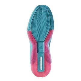 Buty koszykarskie adidas John Wall 2 Boost Prime Knit M D70028 wielokolorowe fioletowe 2