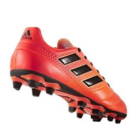 Buty piłkarskie adidas Ace 17.4 FxG M S77094 wielokolorowe czerwone 1