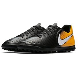 Buty piłkarskie Nike TiempoX Rio Iv Tf M 897770-008 wielokolorowe czarne 2