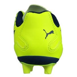 Buty piłkarskie Puma Adreno Iii Fg Safety Junior 104049 10 zielone złoty 2