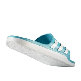 Klapki adidas Aqualette Cloudfoam U AQ2165 niebieskie 1