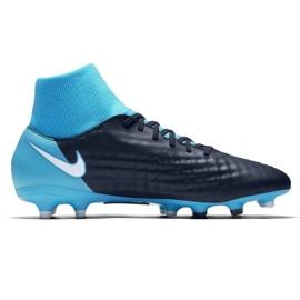Buty piłkarskie Nike Magista Onda Ii Df Fg M 917787-414 niebieskie wielokolorowe 1