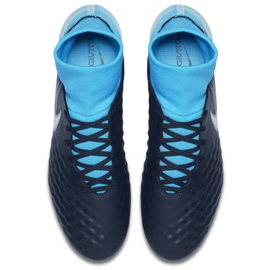 Buty piłkarskie Nike Magista Onda Ii Df Fg M 917787-414 niebieskie wielokolorowe 2