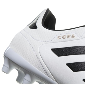 Buty piłkarskie adidas Copa 18.3 Fg M BB6358 białe białe 2