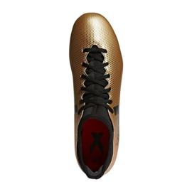 Buty piłkarskie adidas X 17.3 Fg M CP9190 wielokolorowe wielokolorowe 1