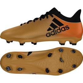Buty piłkarskie adidas X 17.3 Fg M CP9190 wielokolorowe wielokolorowe 2