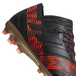 Buty piłkarskie adidas Nemeziz 17.1 Fg Jr CP9152 czarne 1