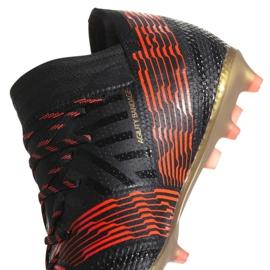 Buty piłkarskie adidas Nemeziz 17.1 Fg Jr CP9152 czarne 2