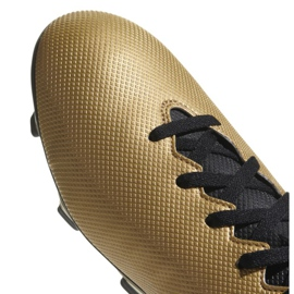 Buty piłkarskie adidas X 17.4 FxG M CP9195 złoty 2