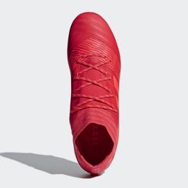 Buty piłkarskie adidas Nemeziz 17.2 Fg M CP8971 czerwone czerwone 2