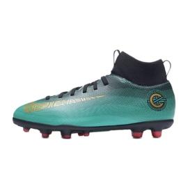 Buty piłkarskie Nike Mercurial Superfly 6 Club CR7 Mg Jr AJ3115-390 niebieskie niebieskie 1