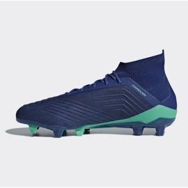 Buty piłkarskie adidas Predator 18.1 Fg M CM7411 niebieskie niebieskie 1