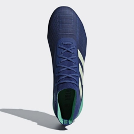 Buty piłkarskie adidas Predator 18.1 Fg M CM7411 niebieskie niebieskie 2