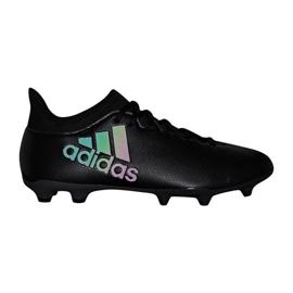 Buty piłkarskie adidas X 17.3 Fg M CP9193 czarne czarne 1