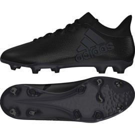 Buty piłkarskie adidas X 17.3 Fg M CP9193 czarne czarne 2