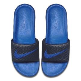 Klapki Nike Benassi Solarsoft Slide 705474-440 czarne 1