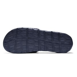 Klapki Nike Benassi Solarsoft Slide 705474-440 czarne 2