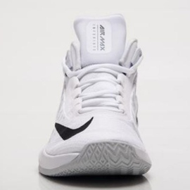 Buty koszykarskie Nike Air Max Infuriate 2 Mid M AA7066-100 białe białe 2