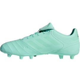 Buty piłkarskie adidas Copa 18.3 Fg M DB2462 niebieski niebieskie 2
