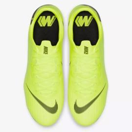 Buty piłkarskie Nike Mercurial Vapor 12 Pro Fg M AH7382-701 żółte żółte 2
