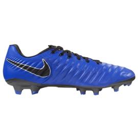 Buty piłkarskie Nike Tiempo Legend 7 Pro Fg M AH7241-400 niebieskie niebieskie 2