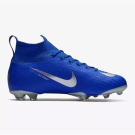 Buty piłkarskie Nike Mercurial Superfly 6 Elite Fg Jr AH7340-400 niebieskie niebieskie 1