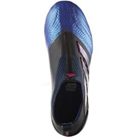 Buty piłkarskie adidas Ace 17+Purecontrol Fg Jr BA9819 czarne czarne 1