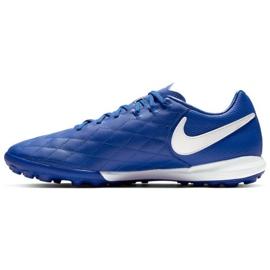 Buty piłkarskie Nike Tiempo Lunar LegendX 7 Pro 10R Tf M AQ2212-410 niebieskie niebieski 1