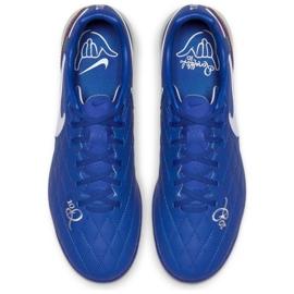 Buty piłkarskie Nike Tiempo Lunar LegendX 7 Pro 10R Tf M AQ2212-410 niebieskie niebieski 2